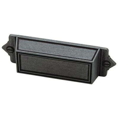 3 in. (76mm) Soft Iron Bracket Bin Pull