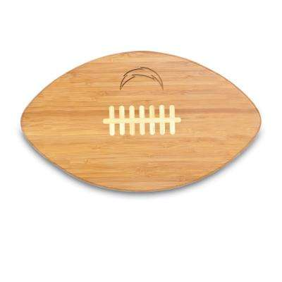 Los Angeles Chargers Touchdown Pro Bamboo Cutting Board