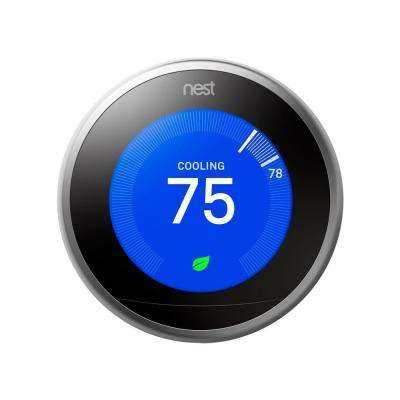7-Day Wi-Fi Learning Programmable Thermostat