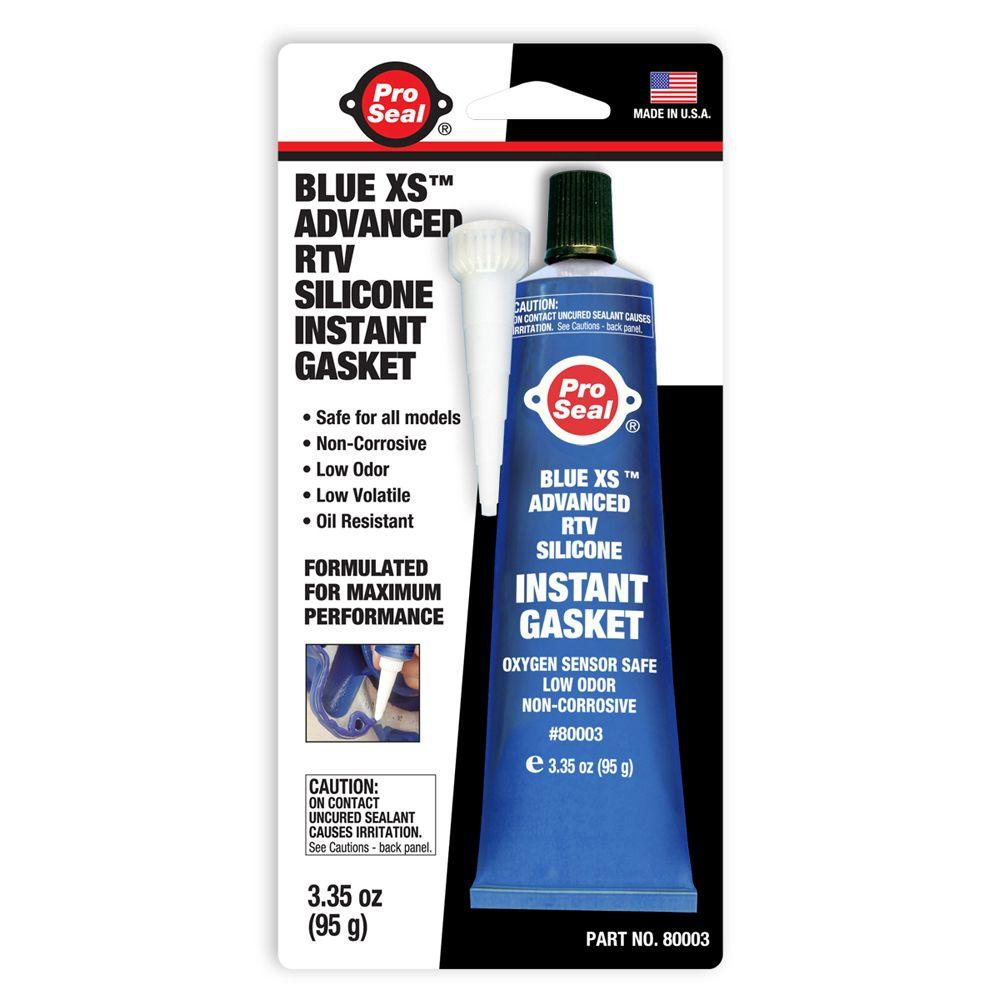 ProSeal 3.35 oz. Blue XS Advanced RTV Silicone Instant Gasket (12-Pack)