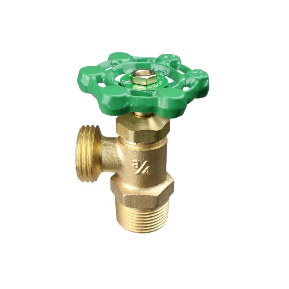 3/4 in. Boiler Drain Multi-Turn Male Thread to Pipe Valve
