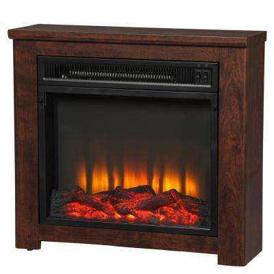 Patterson 24 in. Freestanding Electric Fireplace in Cherry