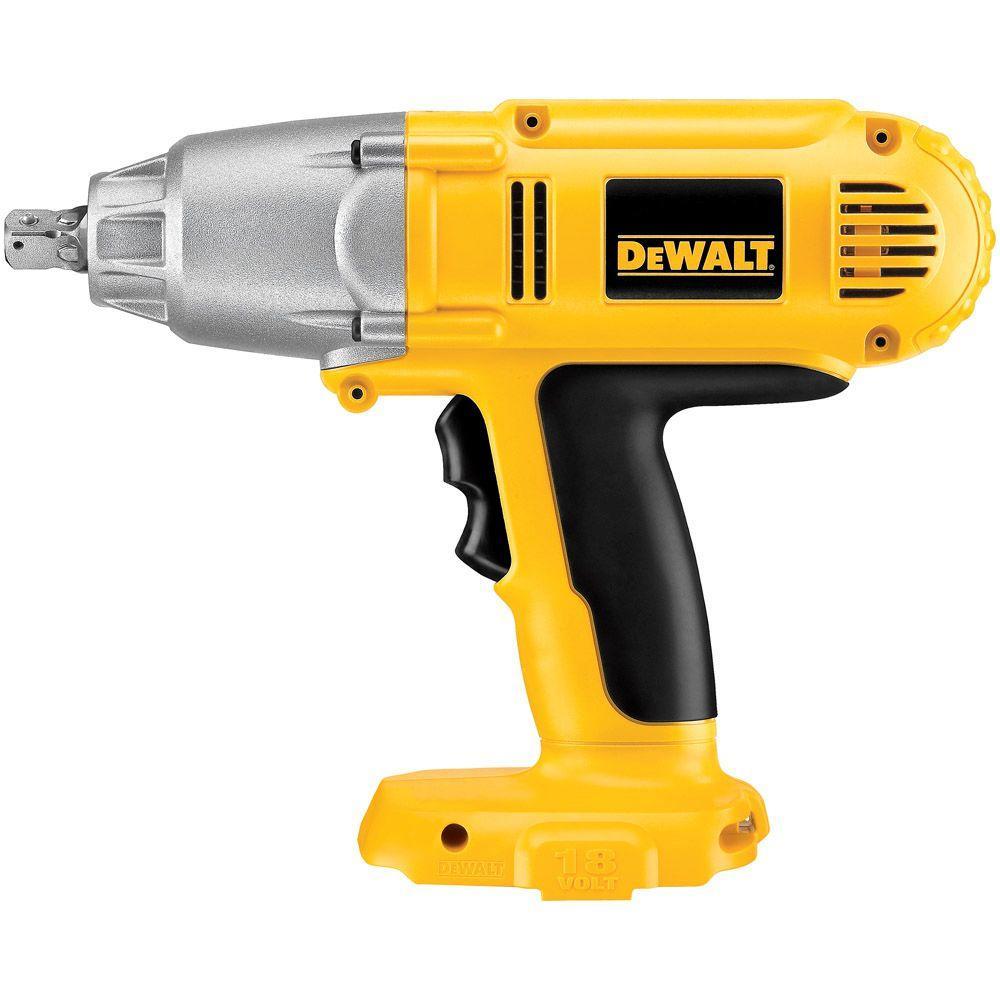 Dewalt 18-Volt NiCd Cordless 1/2 inch Impact Wrench (Tool-Only) by DEWALT