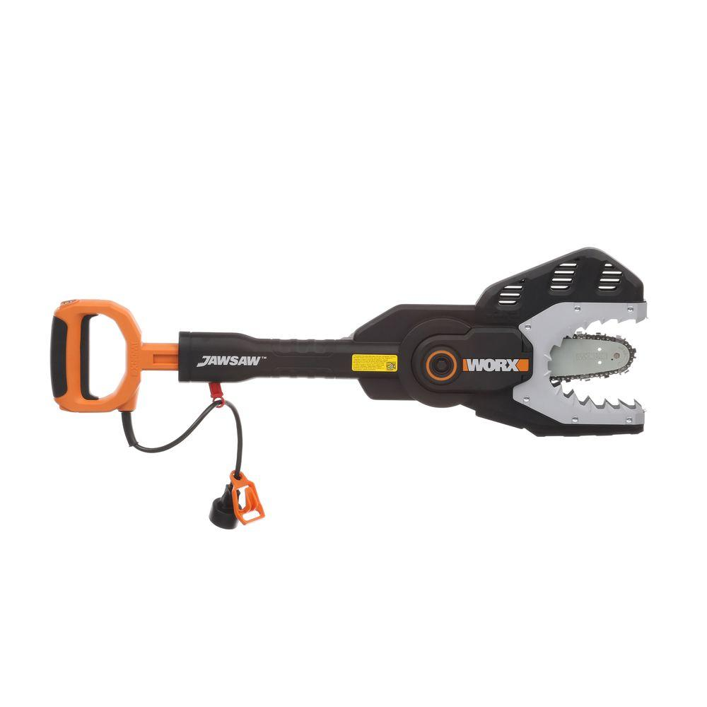 Worx 4 in electric jaw chainsaw wg307 the home depot electric jaw chainsaw wg307 the home depot greentooth Choice Image