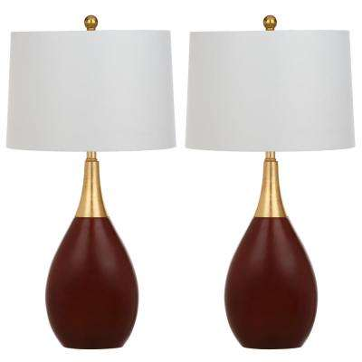 Safavieh - Gold - Table Lamps - Lamps & Shades - The Home Depot
