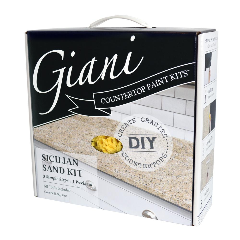 Sicilian Sand Countertop Paint Kit