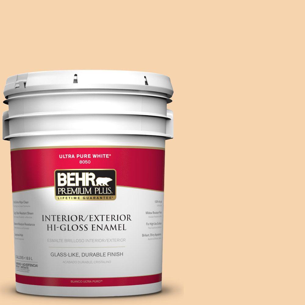 5-gal. #M240-3 Ice Cream Parlour Hi-Gloss Enamel Interior/Exterior Paint