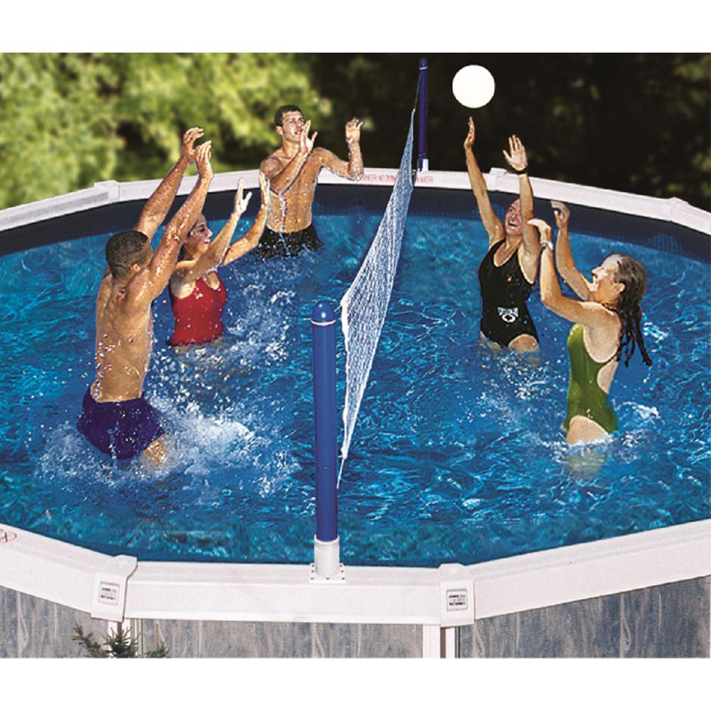 Swimline Jammin Cross-Pool Above Ground Water Volleyball Game by Swimline