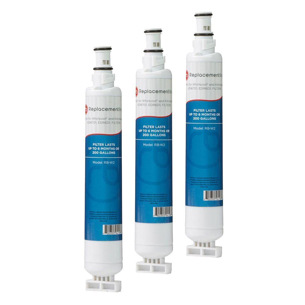 4396701 Comparable Refrigerator Water Filter (3-Pack)-RB_W2_3_PACK ...