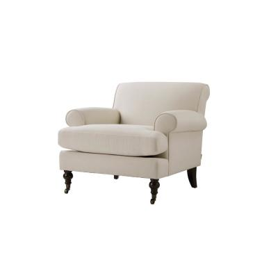 Clarence Sky Neutral Lawson Chair