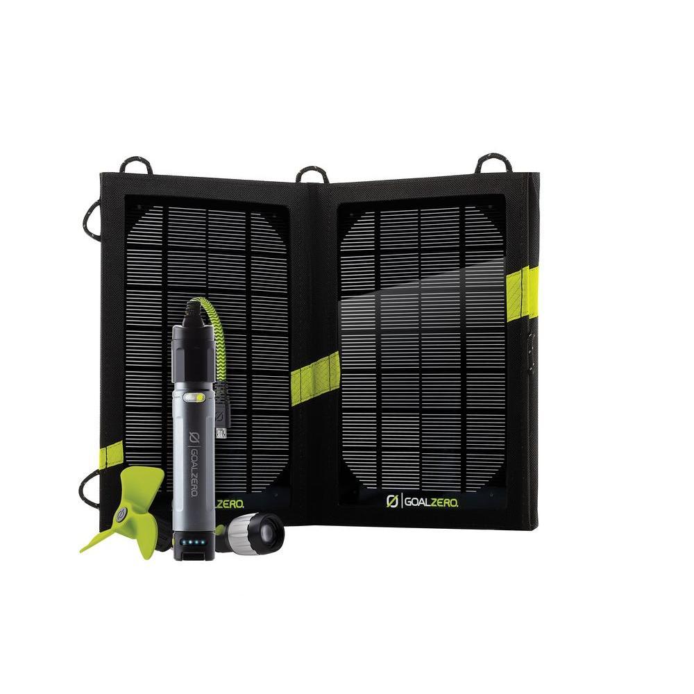 10-Watt Switch Micro Solar Recharging Kit