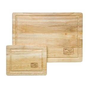 Woodworks 2-Piece Hardwood Cutting Board Set