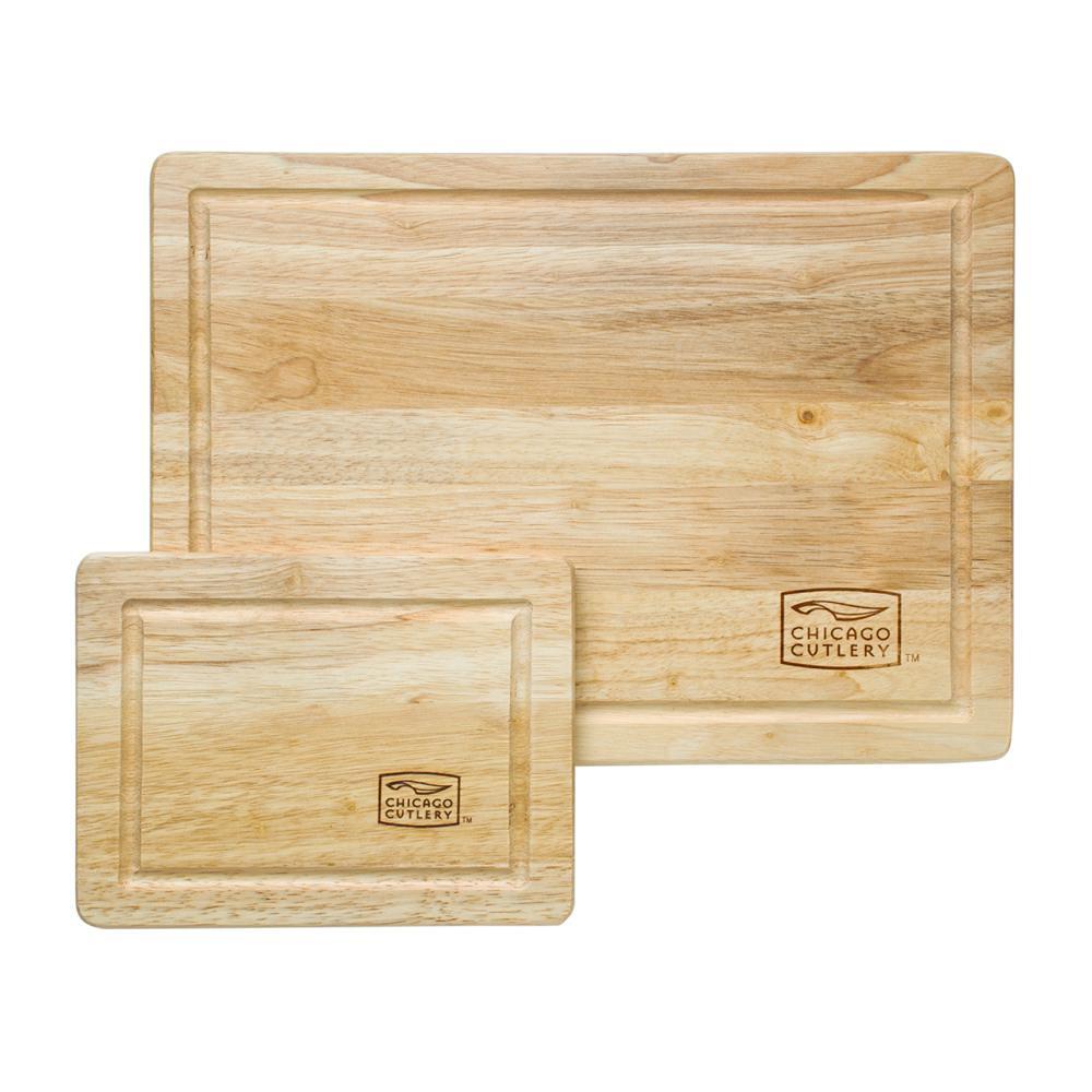 Woodworks 2-Piece Hardwood Cutting Board Set