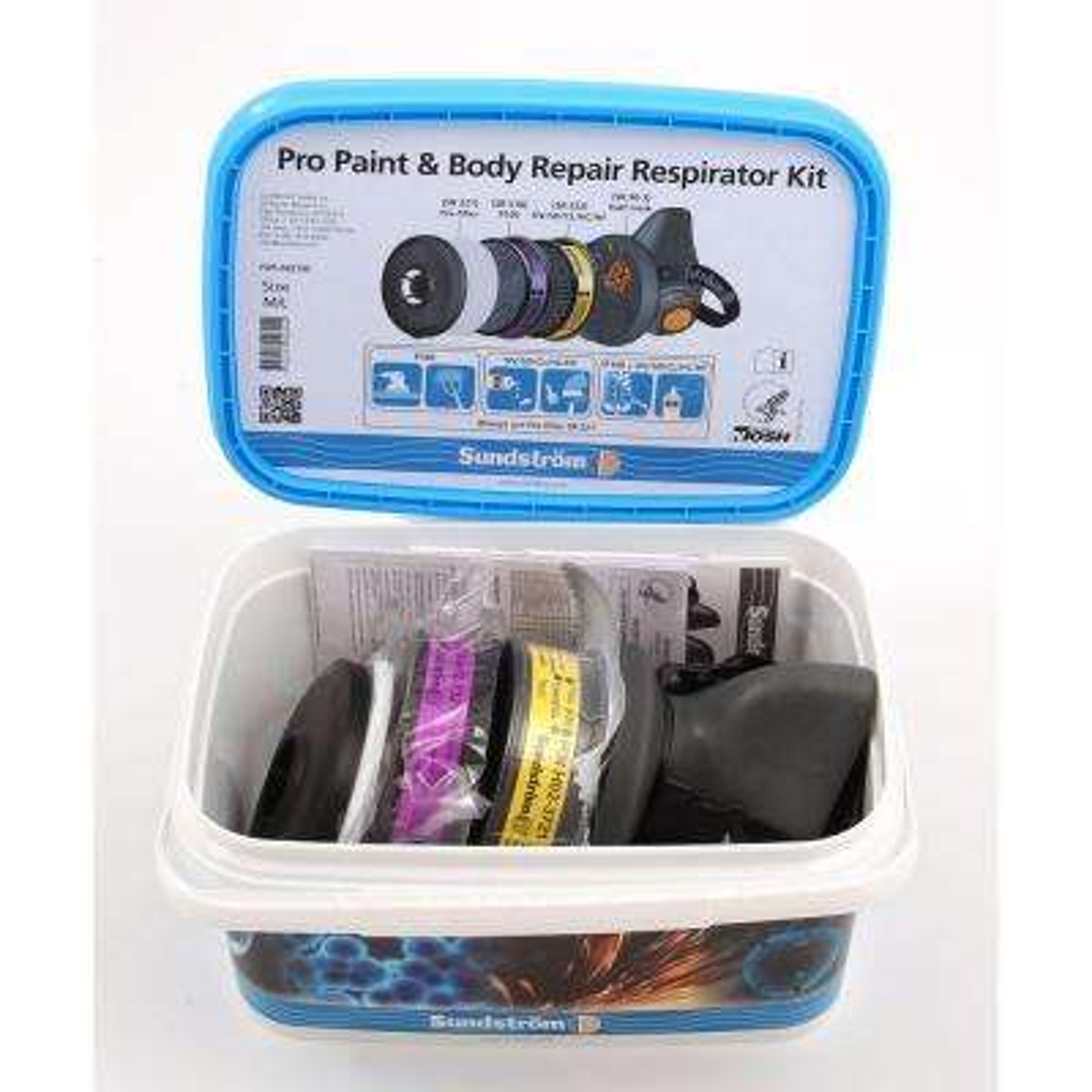 Pro Paint & Body Repair Respirator Kit
