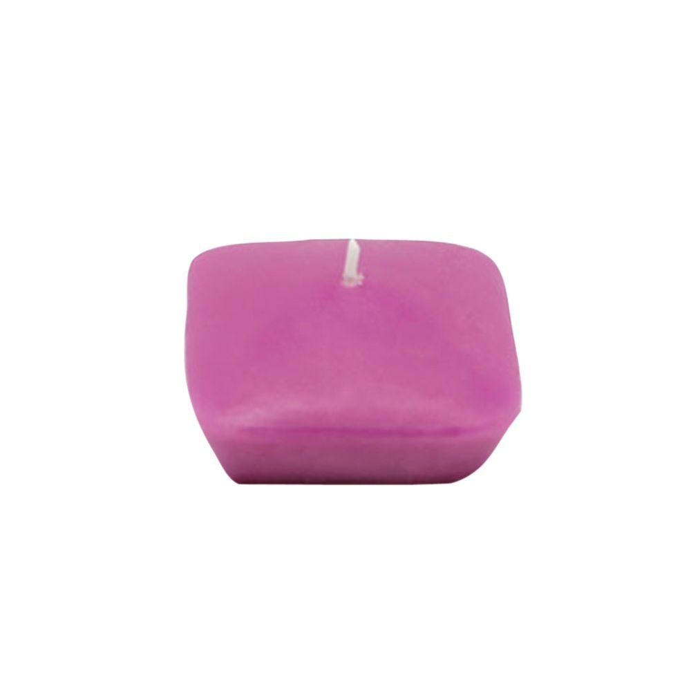 2.25 in. Purple Square Floating Candles (12-Box)