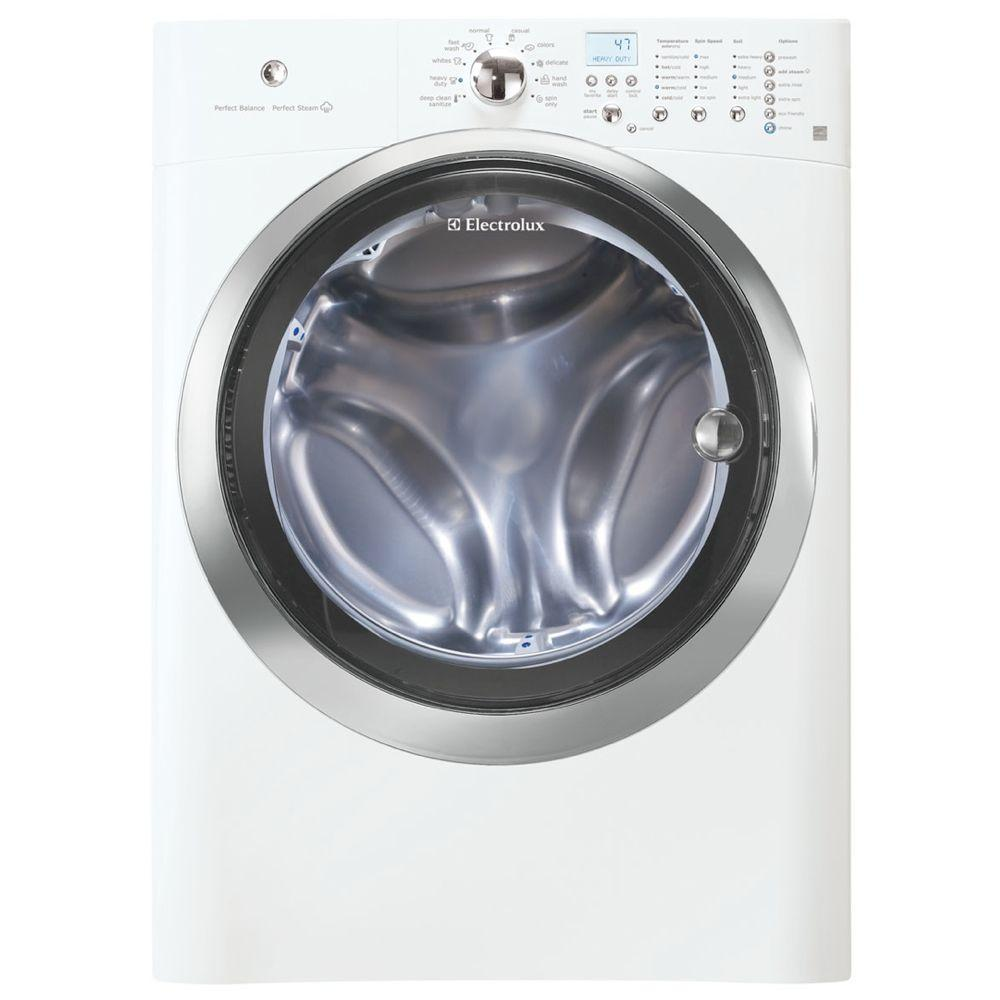 Electrolux IQ-Touch 4.22 cu. ft. High-Efficiency Front Load Washer with Steam in White, ENERGY STAR