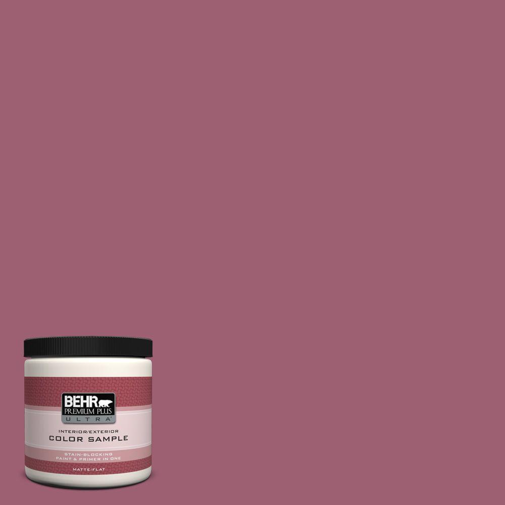 8 oz. #M130-6 Tropical Hibiscus Interior/Exterior Paint Sample