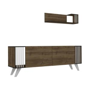 Salem Walnut Modern TV Stand