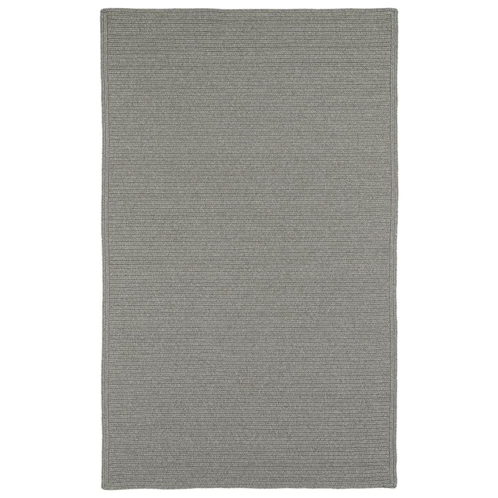 Kaleen Bikini Pewter 8 ft. x 11 ft. Indoor/Outdoor Area Rug
