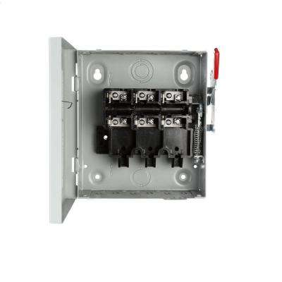 General Duty 30 Amp 240-Volt 3-Pole Indoor Non-Fusible Safety Switch