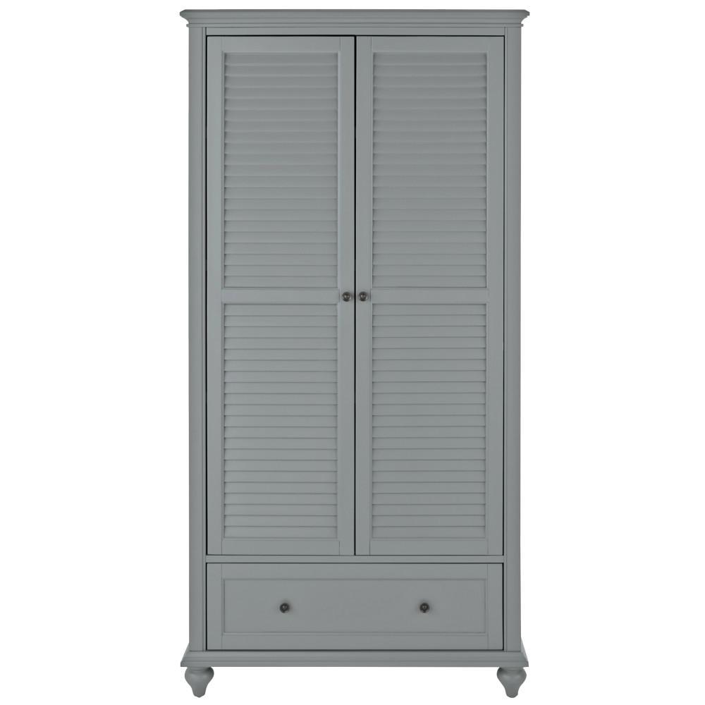 Hamilton 2-Door Grey Bookcase
