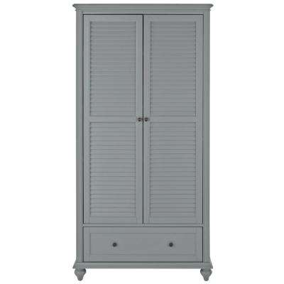 Hamilton 2-Door Grey Bookcase