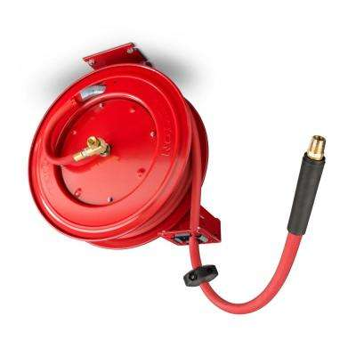 50 ft. x 1/2 in. I.D. Auto Rewind Air Hose Reel