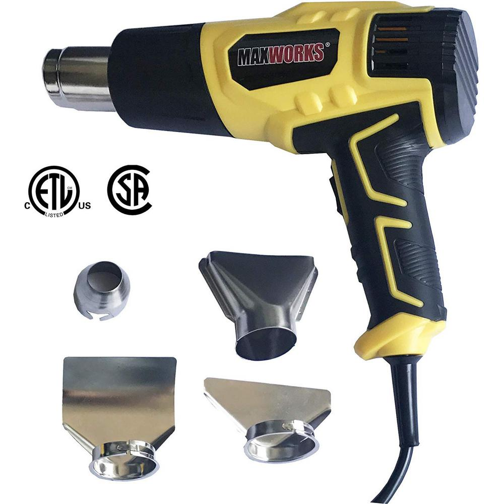 SUPERIOR COIL DESIGN 1500 WATT DUAL TEMP HEAT GUN w//SAME DAY SHIP 3 DAY DELIVERY