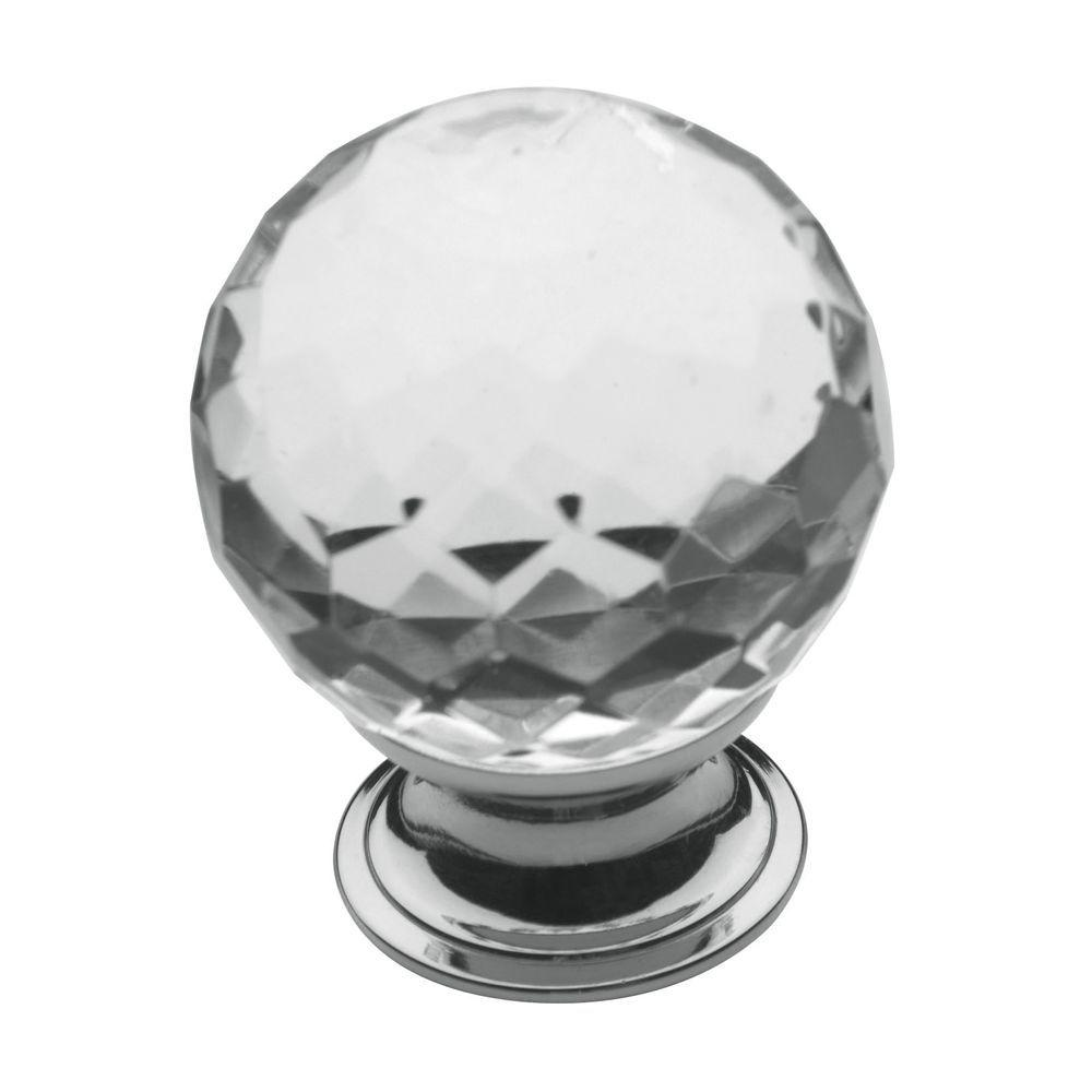Baldwin 1-9/16 in. Polished Chrome Round Cabinet Knob