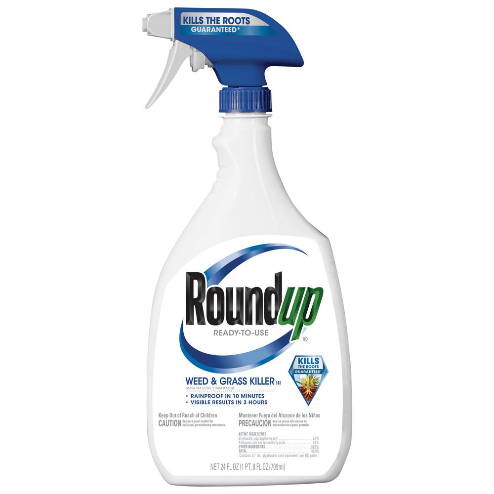 Roundup 24 Oz Weed And Grass Killer Rtu Trigger 5003003