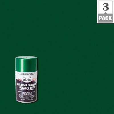 3 oz. Mystic Emerald Lacquer Spray Paint (3-Pack)