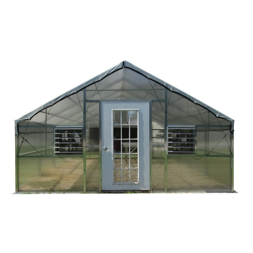 Riverstone 12 ft. x 18 ft. Thoreau Premium Educational Greenhouse