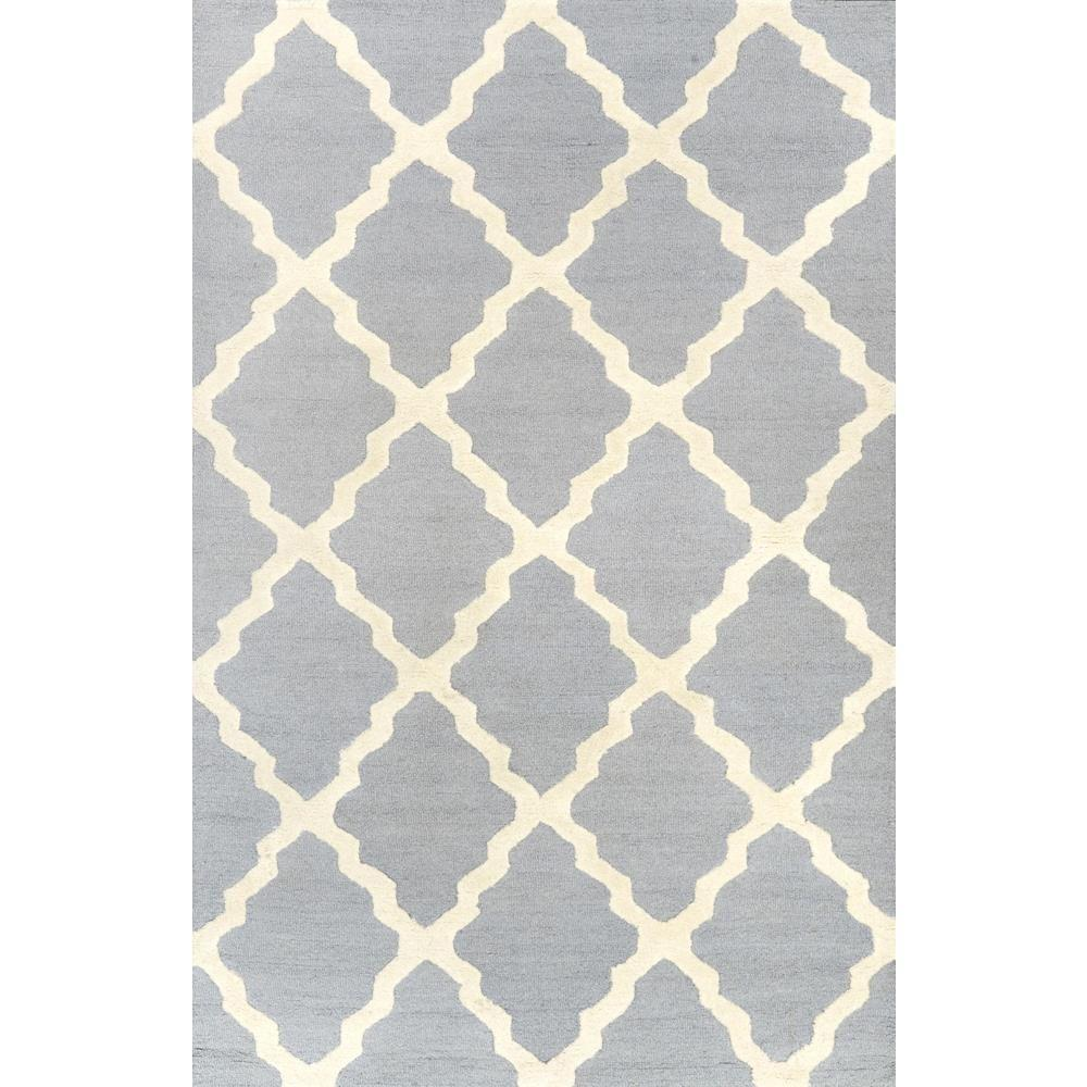 nuLOOM Trellis Spa Blue 5 ft x 8 ft Area Rug MTVS27C 508 The
