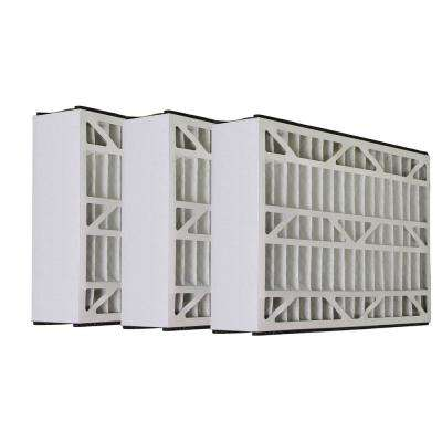 25 in. x 16 in. x 3 in. Micro Dust Merv 8 Replacement Air Filter for Carrier KEAFL0106012 (3-Pack)
