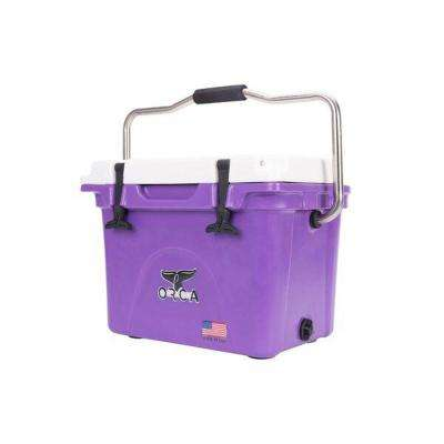 ORCA Purple/White 20 Qt. Cooler