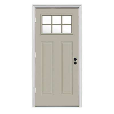 Tan Craftsman Energy Star Front Doors Exterior Doors The