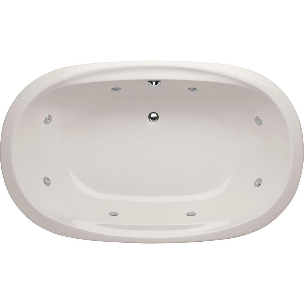 Hydro Systems Studio Dual Oval 5.5 ft. Reversible Drain Whirlpool ...