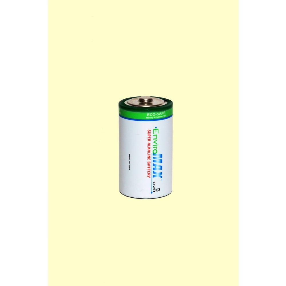 Fuji EnviroMax Super Alkaline D Battery (4 per Pack)