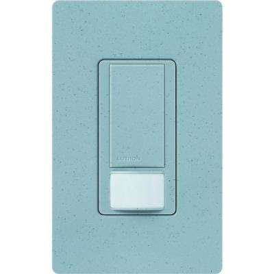 Maestro Dual Voltage Vacancy Sensor switch, 6-Amp, Single-Pole, Bluestone