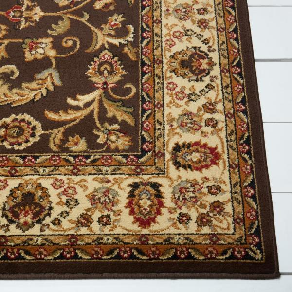 Home Dynamix Royalty Brown Ivory 5 Ft