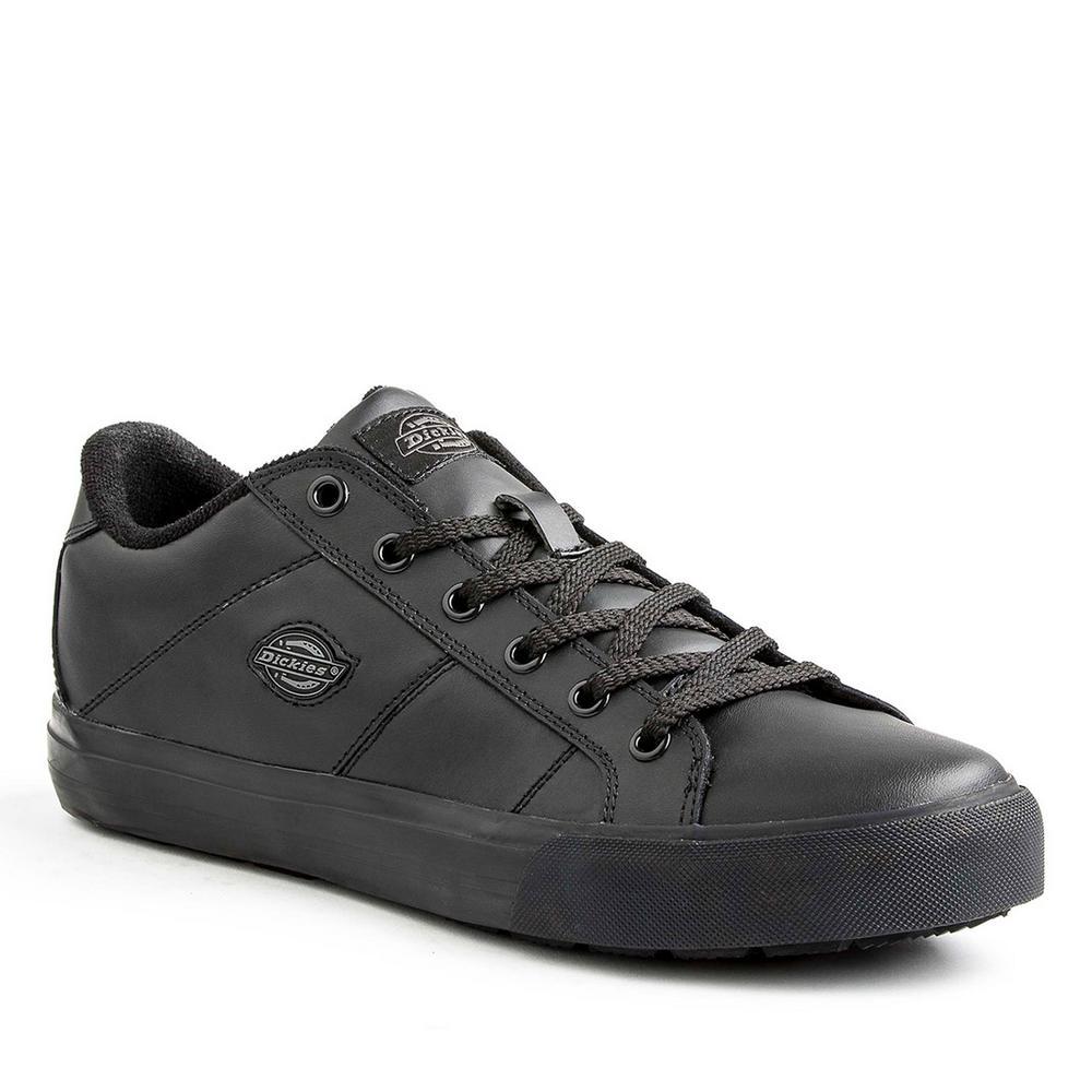 ab076e040d0 Dickies Trucos Men Size 9.5 Black Slip Resistant Safety Work Shoe ...