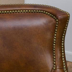 Internet 304059435 2 Le House Njord Vintage Light Brown Leather Club Chair