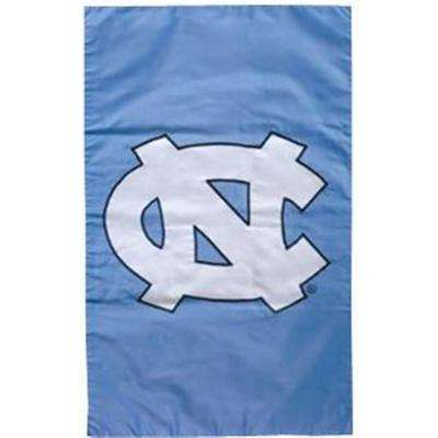 NCAA 12-1/2 in. x 18 in. North Carolina 2-Sided Garden Flag