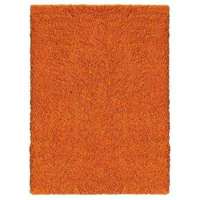 Bella Collection Orange 6 ft. 7 in. x 9 ft. 3 in. Area Rug