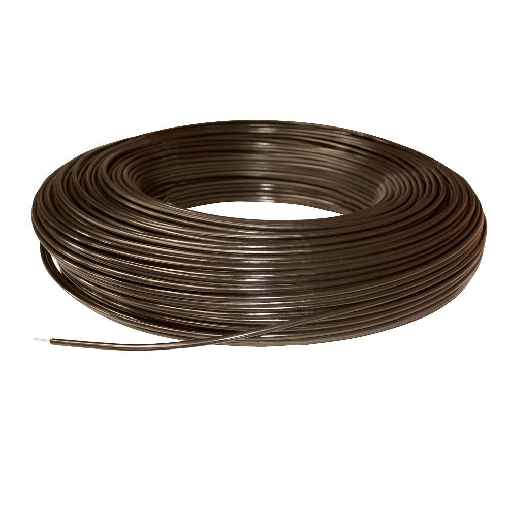 1320 ft. 12.5-Gauge Brown Safety Coated High Tensile Horse Fence Wire