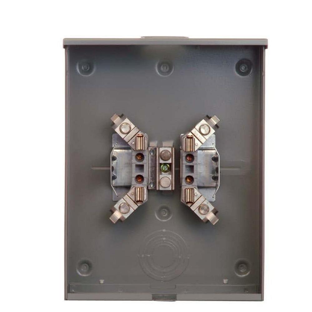200 Amp Ringless Underground Fed Meter Socket
