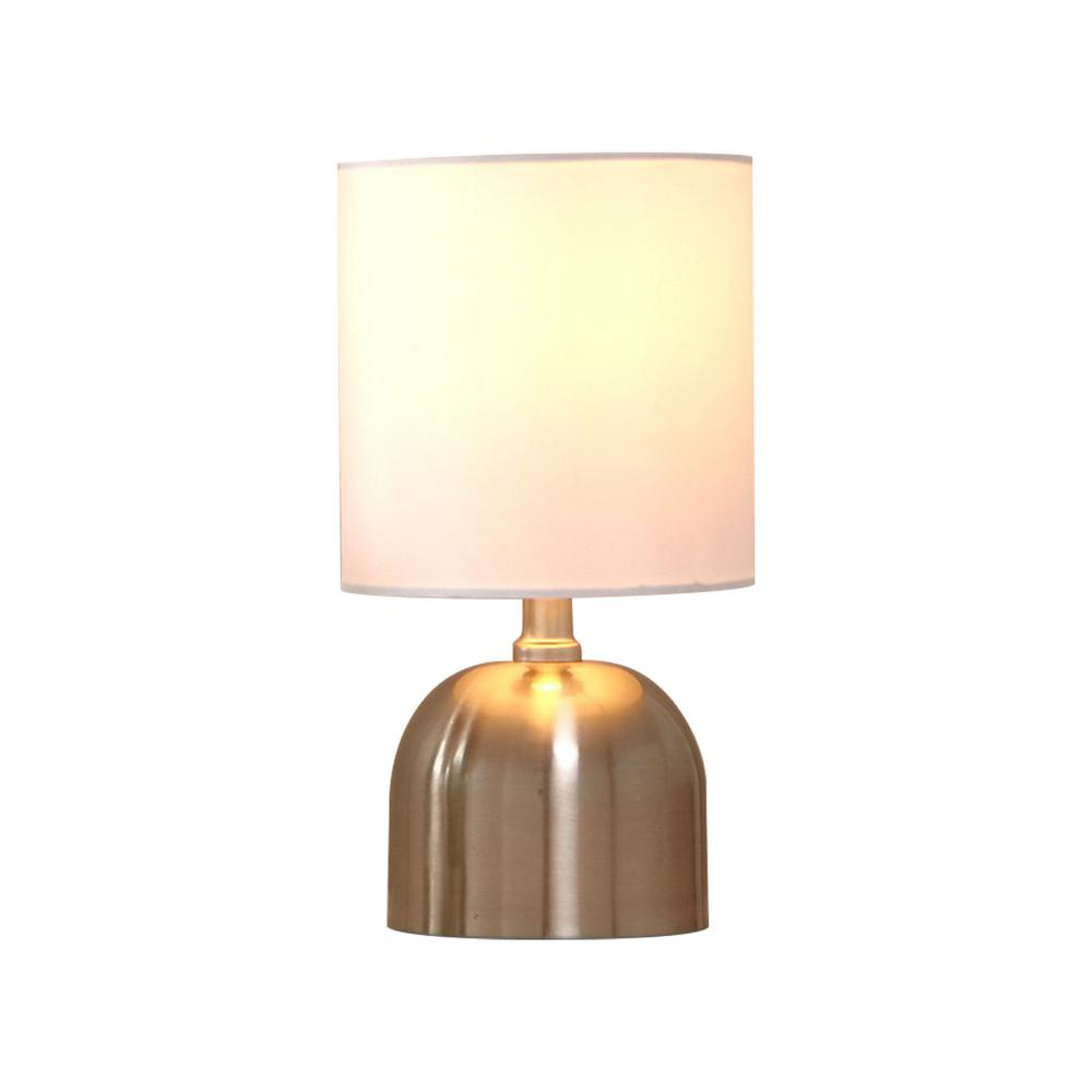 11 0 In Chrome Bedside Desk Lamps For