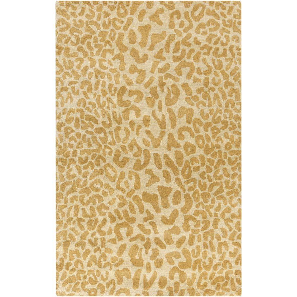 Bicauri Olive 8 ft. x 10 ft. Indoor Area Rug