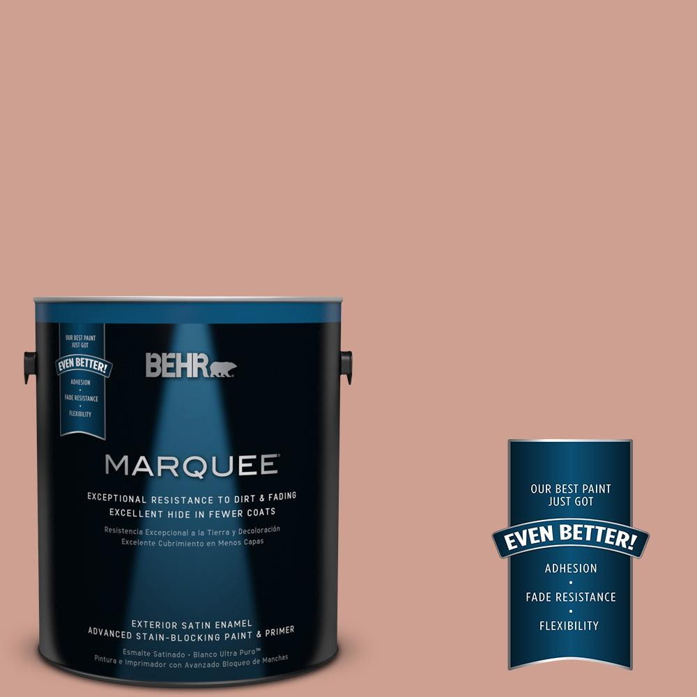 1-gal. #S180-4 Shiny Kettle Satin Enamel Exterior Paint