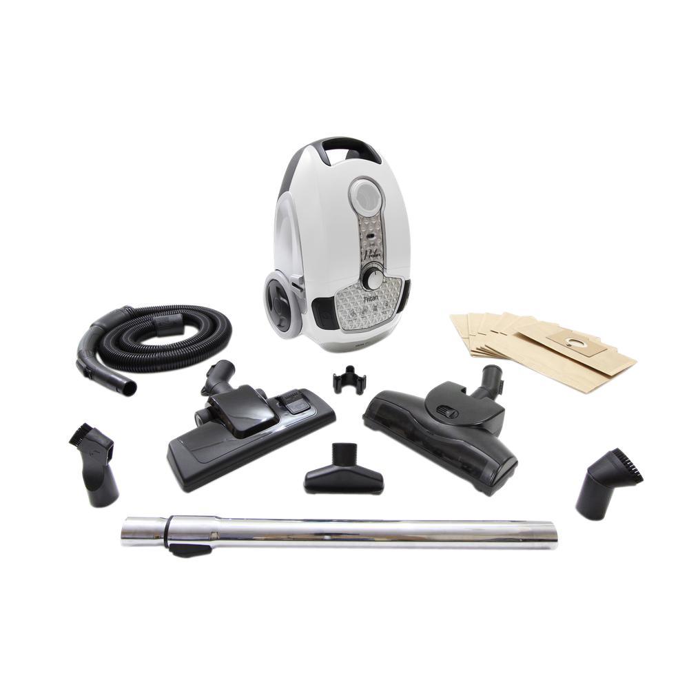 Prolux Tritan Pet Turbo Canister Vacuum Cleaner HEPA Sealed Hard Floor Vacuum by Prolux